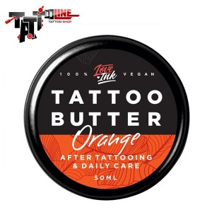 Masło do tatuażu - Loveink Tattoo Butter Orange 50ml
