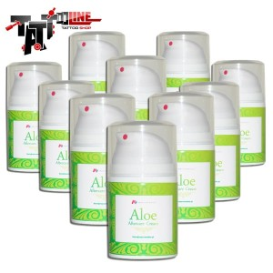 10 x Aloe Aftercare Cream  50ml